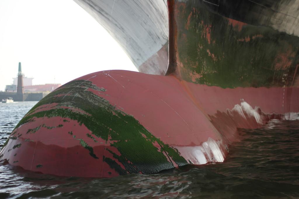 Wulstbug Containerschiff