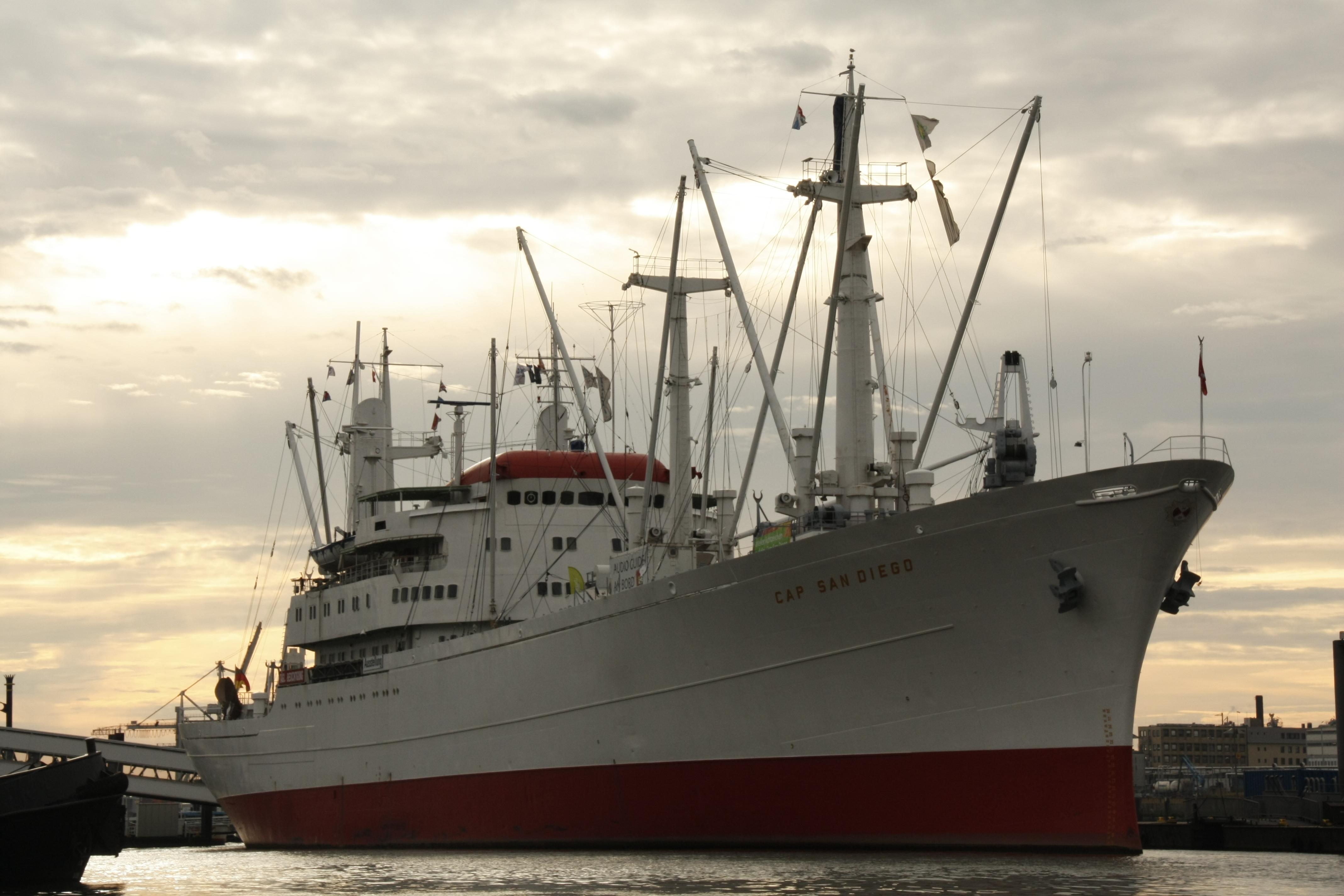Die Cap San Diego – Museumsschiff zum anfassen